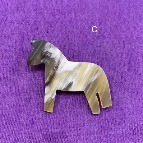 ホルンファーレファブリッケン ブローチ 馬