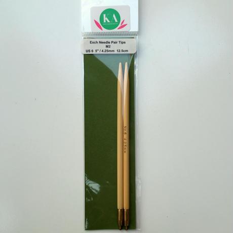 KA 切替輪針用 針先 US4, 5, 5.5, 6, 7, 8