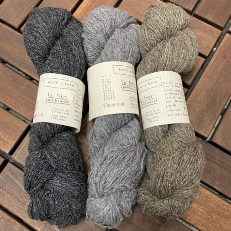 Biches &Buches    LePetit Lambswool  モノトーン