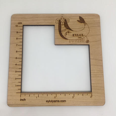木製 ゲージ メジャー 4インチ(10cm)★EYLULオリジナル