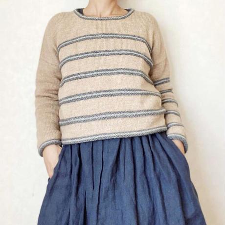 BROGUNA sweater  糸セット サイズ1、2、(3)対応