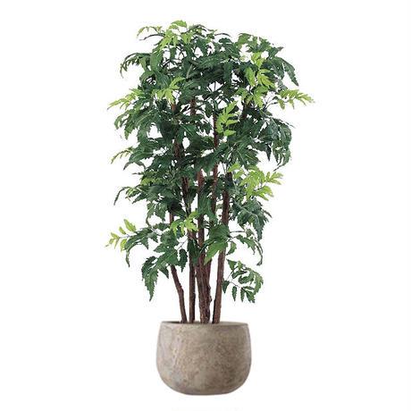 【EZ BARRIER GREEN 365】抗菌人工樹木 アラリア H95㎝(陶器鉢付)