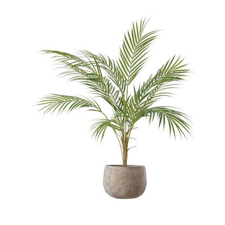 【EZ BARRIER GREEN 365】抗菌人工樹木 アレカヤシ  H75㎝(陶器鉢付)