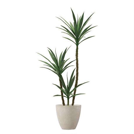 【EZ BARRIER GREEN 365】抗菌人工樹木 アガベ3本立  H155㎝(陶器鉢付)