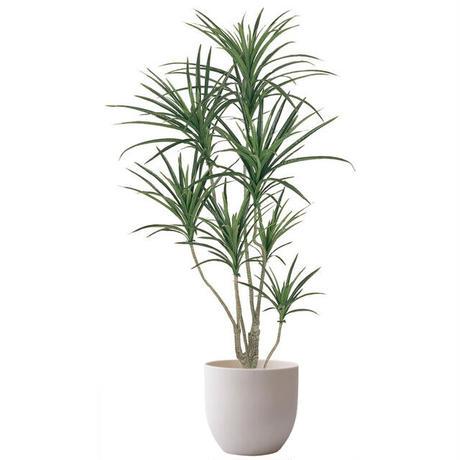 【EZ BARRIER GREEN 365】抗菌人工樹木 ユッカ H130㎝(陶器鉢付)