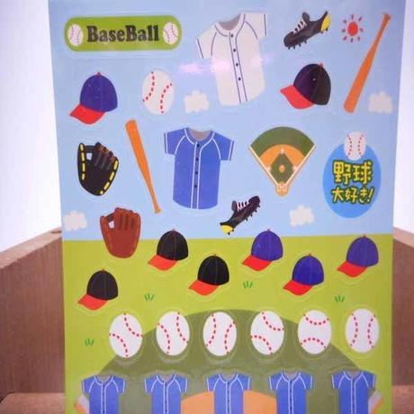 通販ショップ オリジナルシール 野球 はがきサイズ  のコピー  のコピー