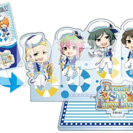 アイドルマスター SideM キメっ!とアクリルスタンド『Dream Ship Party Live』