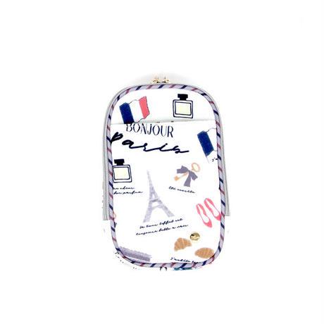 【FAD-1408G】モバイルポーチ- PARIS (パリ)