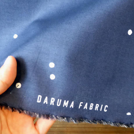 DARUMA FABRIC  Tane Navy