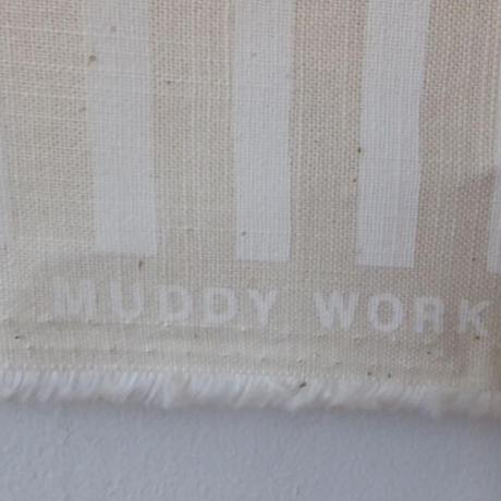 MUDDY WORKS チェック&ボーダー生地
