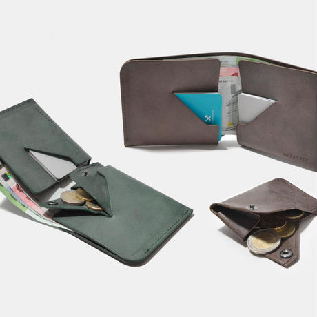 BI-FOLD WALLET & COIN CASE
