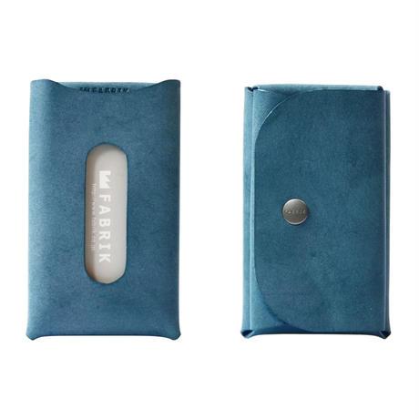 カードも入るキーケース KEY CASE & CARD / BLUE