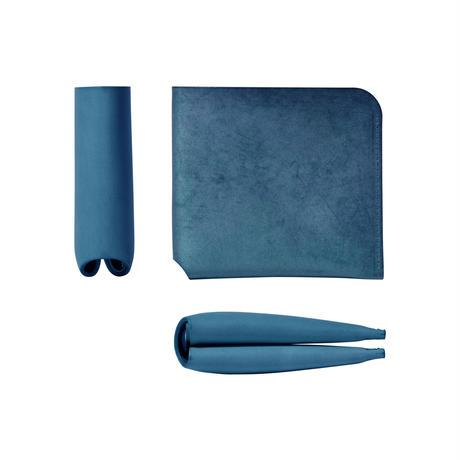 コインケースが取り外せる財布 BI-FOLD WALLET & COIN CASE[FLIP] / BLUE