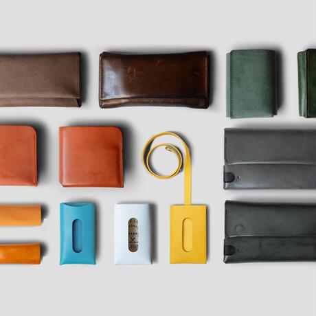 コンパクト設計の長財布 LONG WALLET / FABRIK TURQUOISE
