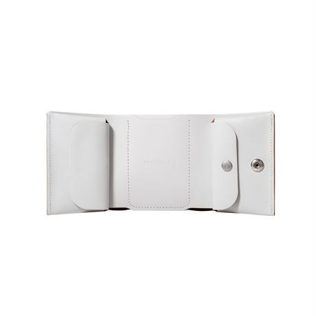 しっかり入ってコンパクトな財布 TRI-FOLD WALLET / ICE WHITE
