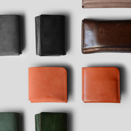 コンパクト設計の長財布    LONG WALLET / BLACK
