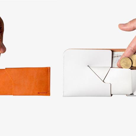 コインケースが取り外せる財布 BI-FOLD WALLET & COIN CASE[FLIP] / BRICK RED