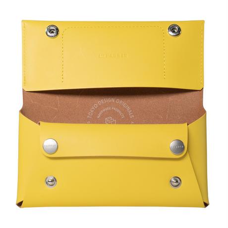 コンパクト設計の長財布 LONG WALLET / LEMON