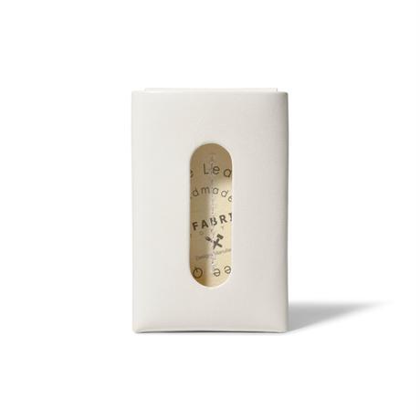 """用途や収納枚数で選べるカードケース""""5"""" CARD CASE 5 / WHITE"""