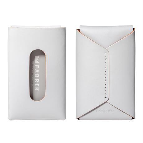 """用途や収納枚数で選べるカードケース""""10/20""""    CARD CASE 10-20 / WHITE"""