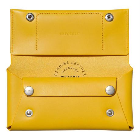 コンパクト設計の長財布    LONG WALLET / YELLOW
