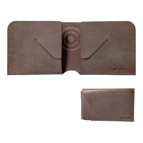コインケースが取り外せる財布 BI-FOLD WALLET & COIN CASE[FLIP] / CHOCOLATE