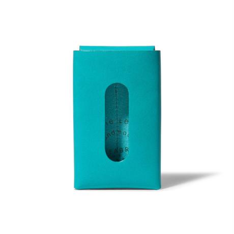 """用途や収納枚数で選べるカードケース""""10/20""""   CARD CASE 10-20 / FABRIK TURQUOISE"""