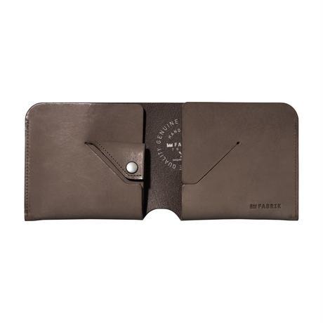 コインケースが取り外せる財布 BI-FOLD WALLET & COIN CASE / CHOCOLATE