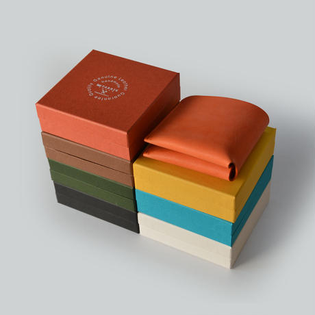 コインケースが取り外せる財布 BI-FOLD WALLET & COIN CASE /  WHITE