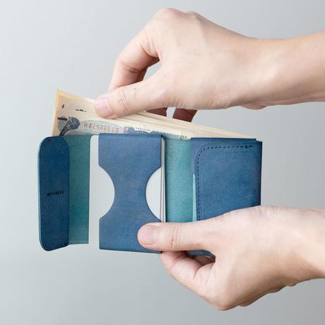 ポケット財布  MINI  /  BLACK