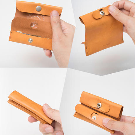 選べるスタイル 3WAY MINI WALLET / CAMEL