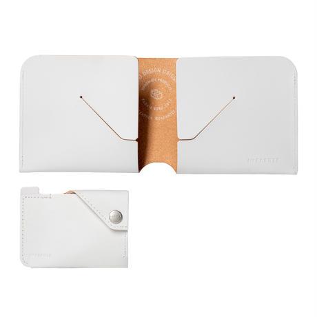 コインケースが取り外せる財布 BI-FOLD WALLET & COIN CASE / ICE WHITE