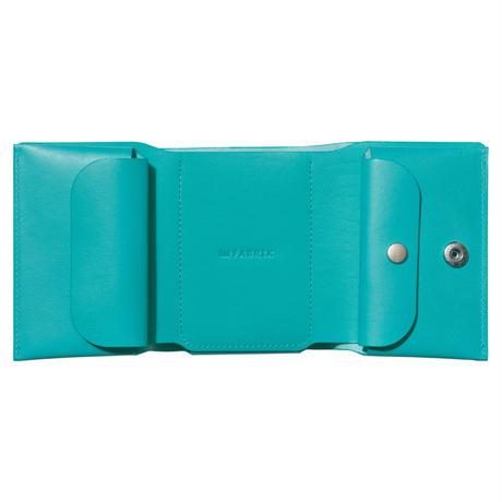 しっかり入ってコンパクトな財布 TRI-FOLD WALLET / FABRIK TURQUOISE