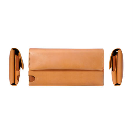 多彩な長財布 LONG WALLET:P / CAMEL