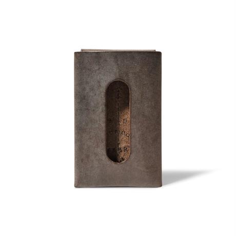 """用途や収納枚数で選べるカードケース""""5"""" CARD CASE 5 / CHOCOLATE"""