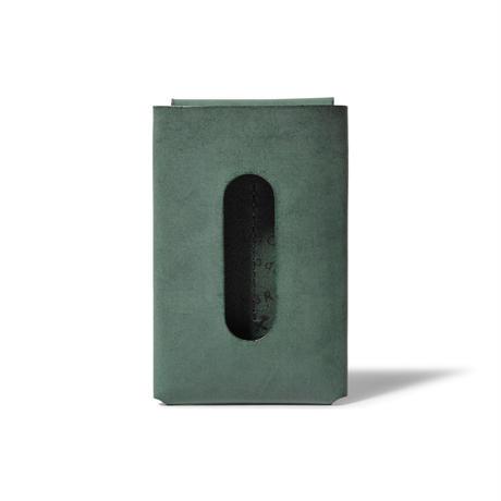 """用途や収納枚数で選べるカードケース""""10/20""""   CARD CASE 10-20 / DARK GREEN"""