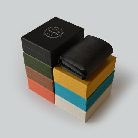 しっかり入ってコンパクトな財布 TRI-FOLD WALLET / DARK GREEN