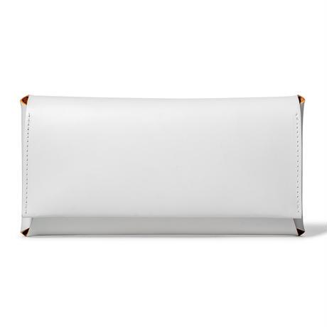 コンパクト設計の長財布 LONG WALLET /  ICE WHITE