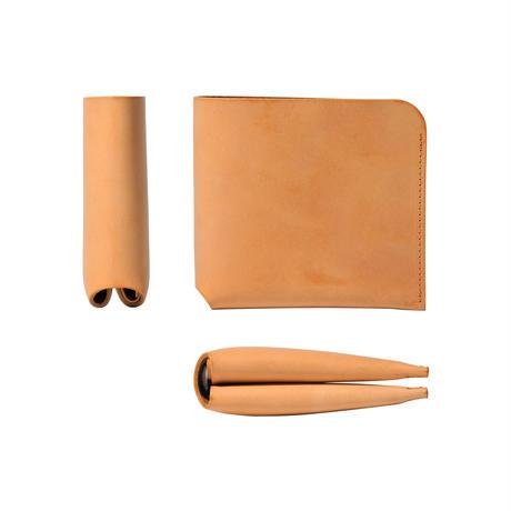 コインケースが取り外せる財布 BI-FOLD WALLET & COIN CASE[FLIP] / CAMEL