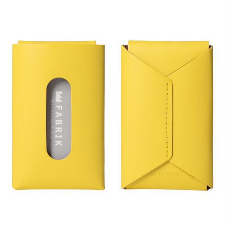 """用途や収納枚数で選べるカードケース""""10/20""""   CARD CASE 10-20 / YELLOW"""