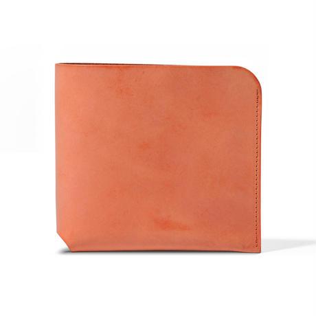 コインケースが取り外せる財布 BI-FOLD WALLET & COIN CASE / BRICK RED