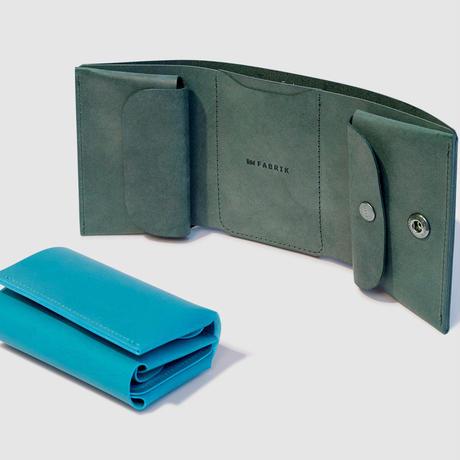 しっかり入ってコンパクトな財布 TRI-FOLD WALLET / LEMON
