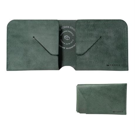 コインケースが取り外せる財布 BI-FOLD WALLET & COIN CASE[FLIP] / DARK GREEN