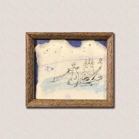 船山 佳苗作品 「夜が降りてくる」