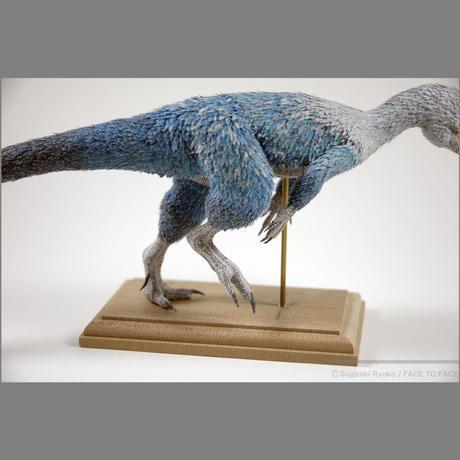 杉﨑良子作品 「もふもふ」ヒプシロフォドンHypsilophodon