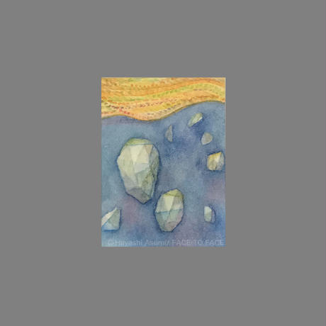 林 明日美作品 「石と時間」