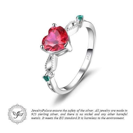 JewelryPalace カラフル ハートリング