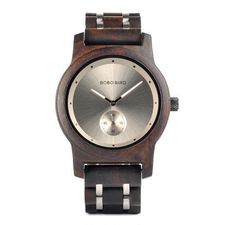 【BOBO BIRD】4色展開  木製腕時計 クォーツ 木の温もり 自然に優しい天然木 スタイリッシュ