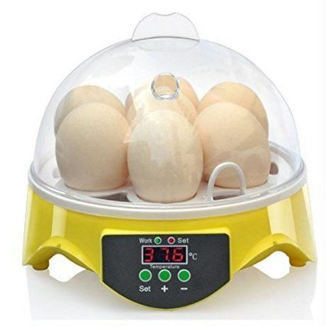 110V 7枚 手動転卵式孵卵器 鳥類用 孵卵器 孵卵機 孵化器 孵化機 インキュベーター