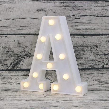 LEDライト アルファベット イルミネーション イベント クリスマス ウエディング 装飾